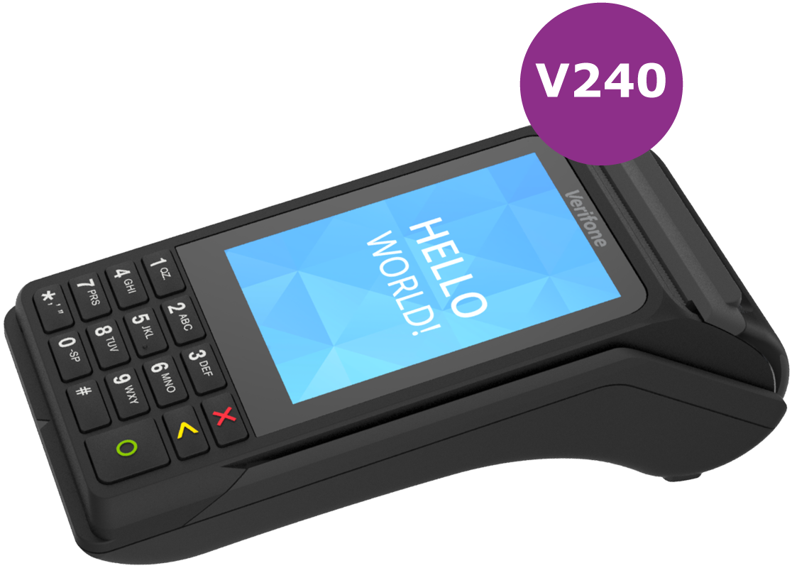 Fast Secure Payments - v240 Card Terminal