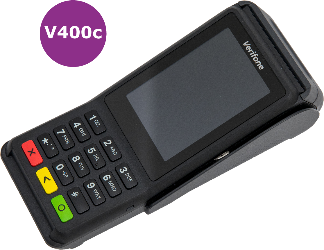 Fast Secure Payments - v400c Card Terminal