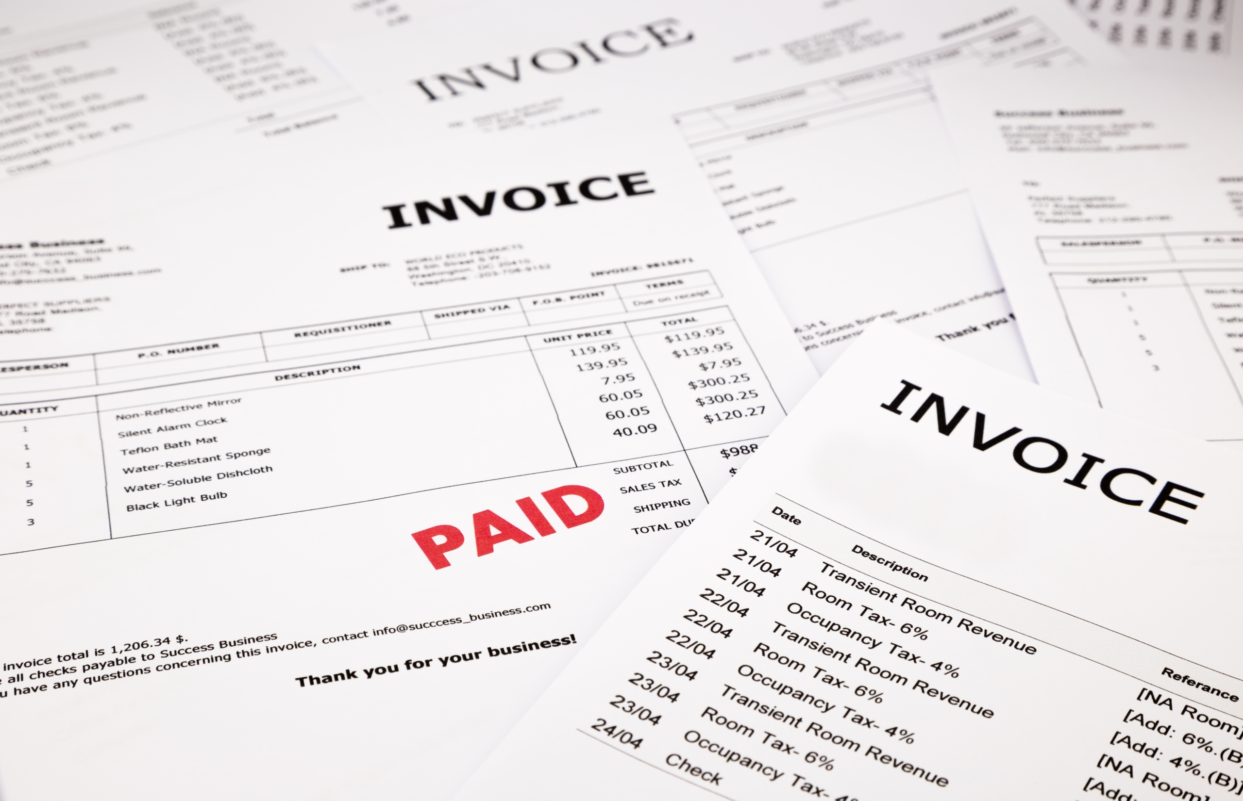 Invoices Paid - SmarterPay E-Invoicing Solution